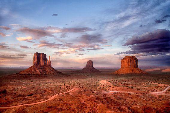 Monument Valley, Utah, USA van Esther Hereijgers