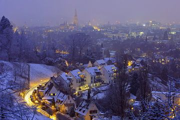 Freiburg mit Puderzucker von Patrick Lohmüller
