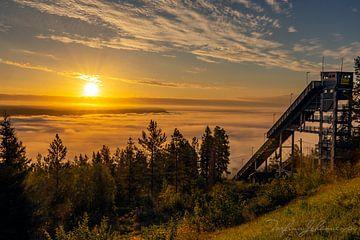 Goedemorgen Zonsopgang van Torfinn Johannessen