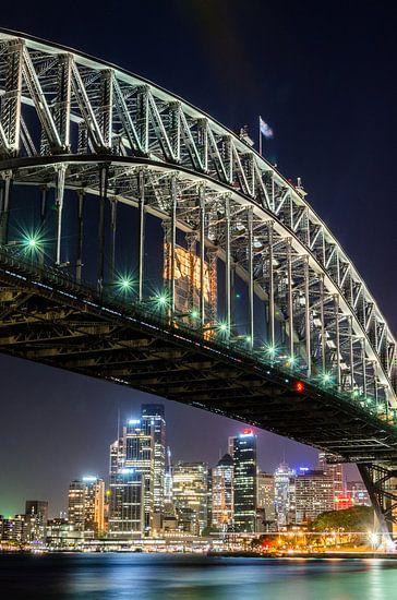 Sydney Harbour Bridge and Skyline van Ricardo Bouman | Fotografie