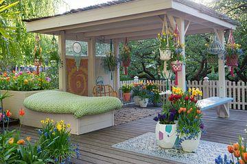 Ibiza Garden in de Keukenhof van Tamara Witjes