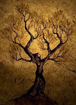 De boomvrouw von Saskia van Gelderen