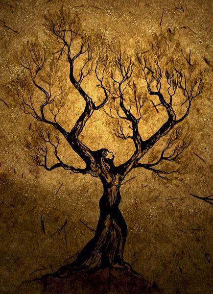 De boomvrouw van Saskia van Gelderen
