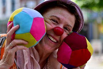 Portret van een clown (3 van 3) von Ima Rhebok