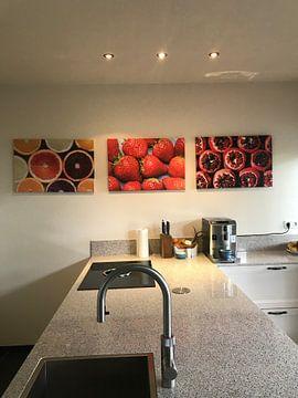 Kundenfoto: Frische Erdbeeren gepflückt von Daan Kloeg