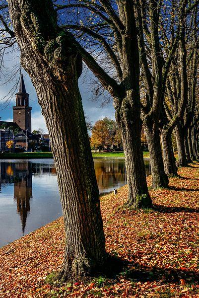 Gracht in Leeuwarden