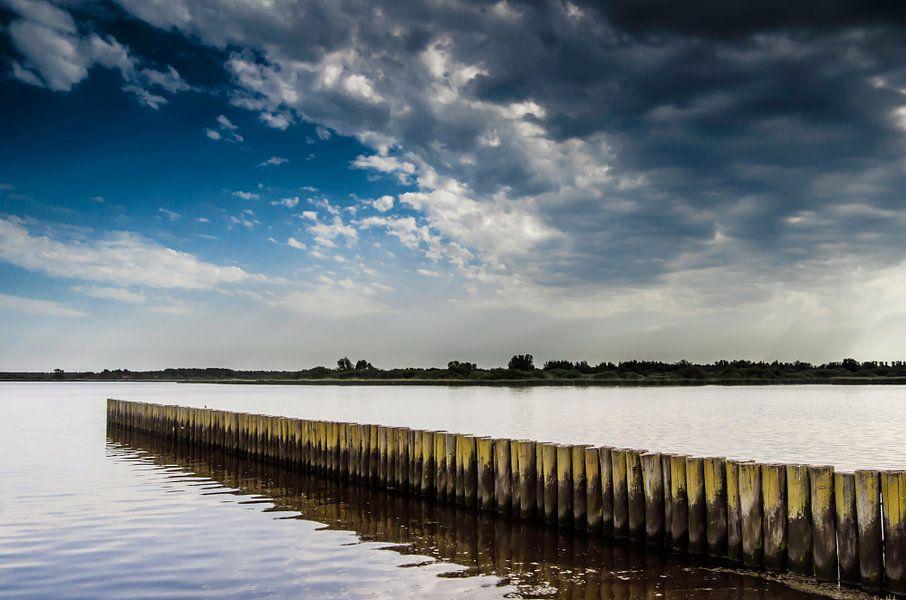 Het Lauwersmeer in Groningen