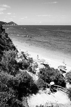 Strand auf Elba von Chantal Koster