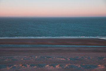 Zeeland Sonnenaufgang Strand Westenschouwen von Susanne Ottenheym