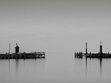 Hafen von Volendam von FJ images