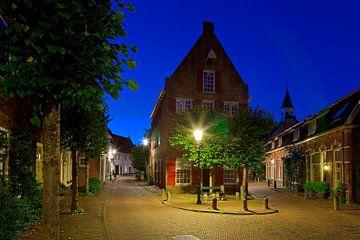 Nuit photo bâtiment ancien Amersfoort sur Anton de Zeeuw