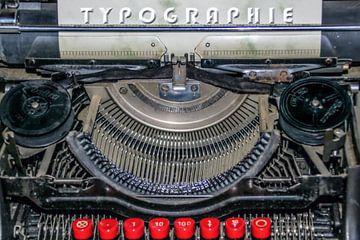 Oude schrijfmachine van Christine Nöhmeier