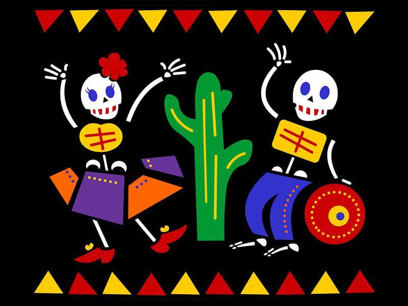 Mexico - Feest van de doden van Studio Mattie