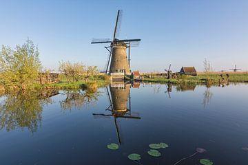 Nederwaard Mühle 7 in Kinderdijk von Charlene van Koesveld