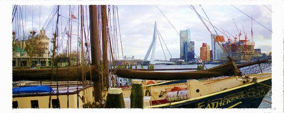 De Catharina in de Veerhaven van Frans Jonker