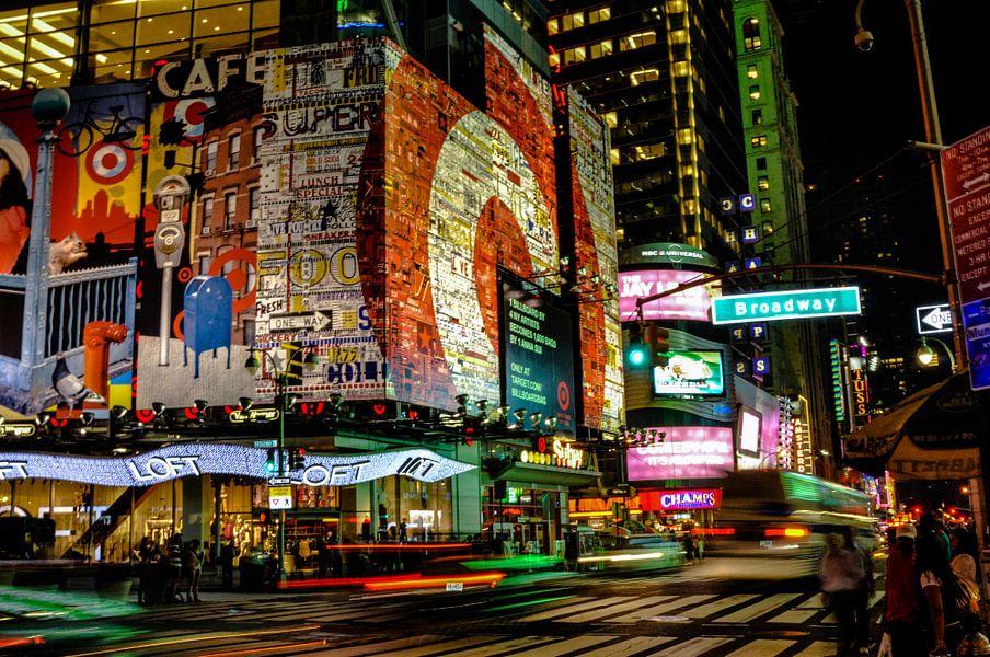 Broadway Lights New York City