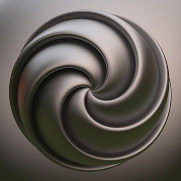 Spiraal knoop van Chrisjan Peterse