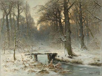 Ein Januarabend im Haager Wald, Louis Apol