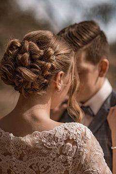 Bruiloft kapsel van Tobias Huber