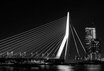 Rotterdam by night von Bernadette Struijk