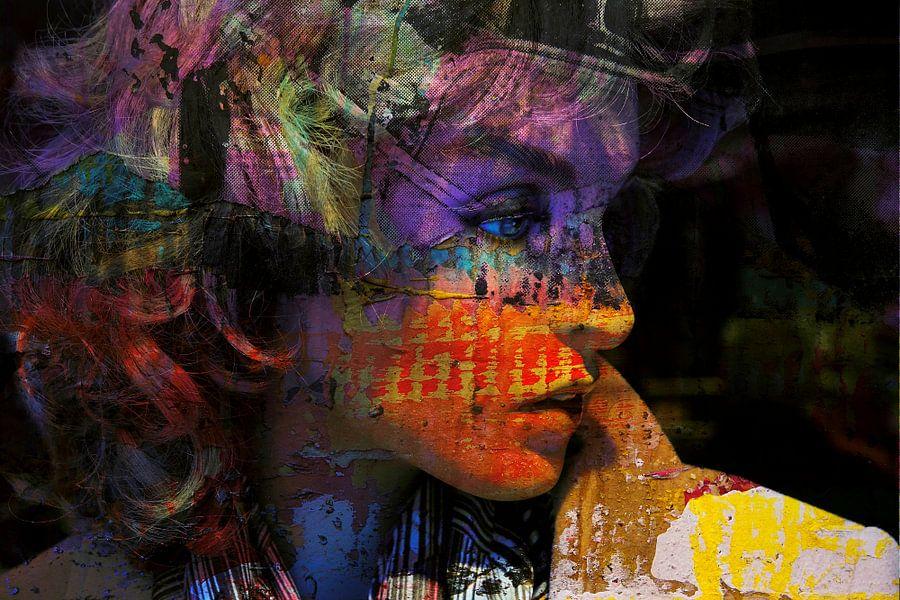 Blue Eyes van Harry Hadders