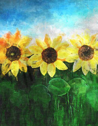 Sunflower von Rosi Lorz
