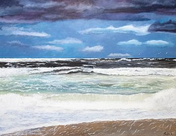 Golvende zee von Harry Kors