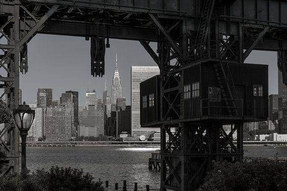 Alte Hafenanlage in New York