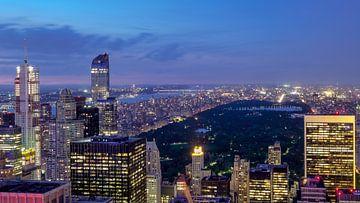 New York  Abendaufnahme von Kurt Krause