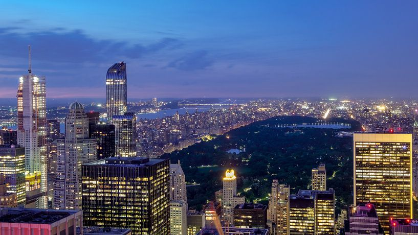 New York  Abendaufnahme van Kurt Krause