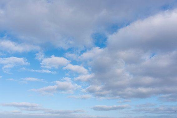 Wolken boven Noordzee