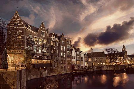 Delfshaven Rotterdam Niederlande von Peter Bolman