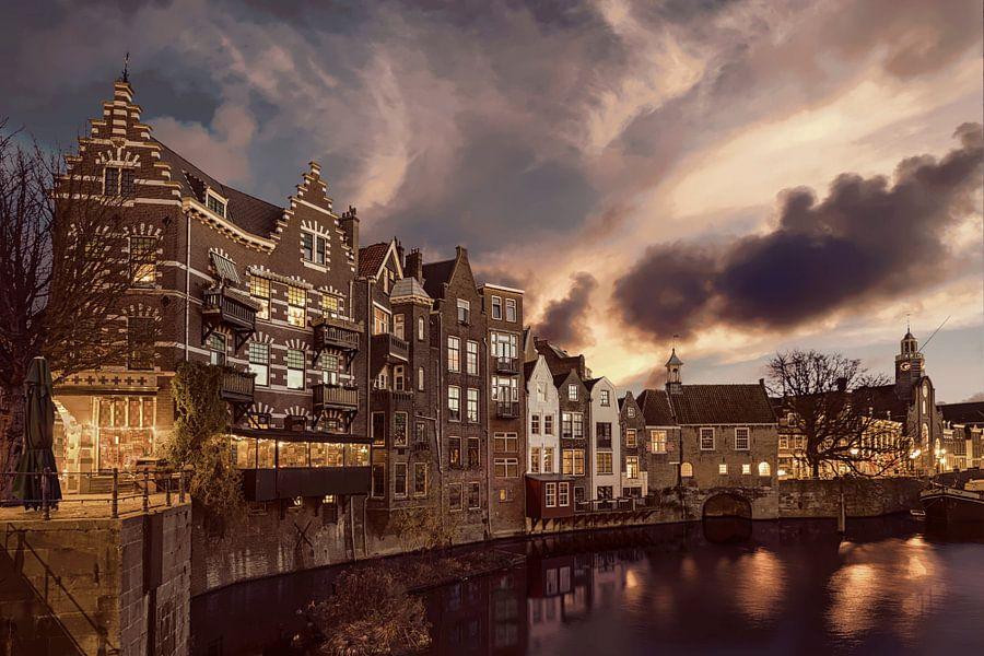 Delfshaven Rotterdam Nederland