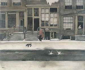 Der Kromboomsloot in Amsterdam, Willem Witsen