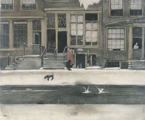 De Kromboomsloot te Amsterdam, Willem Witsen van Meesterlijcke Meesters