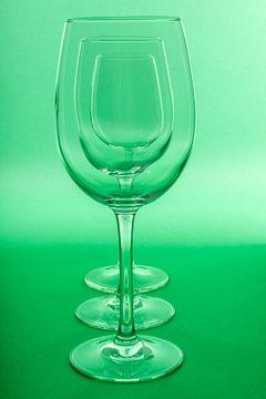 Glazen sur Joke Beers-Blom