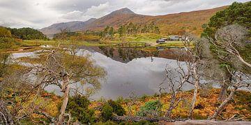 Loch Affric, Glen Affric, Schotland van Arjan Oosterom