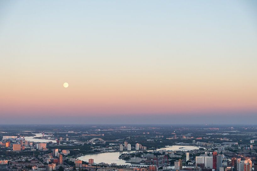 Rotterdam vanuit de lucht van Prachtig Rotterdam