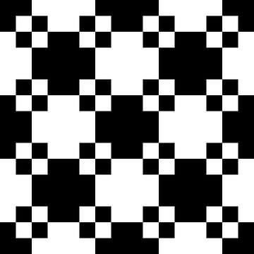 Permutatie   ID=12   V=39   1:1   04x04 van Gerhard Haberern