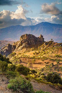 Beeindruckende Landschaft, Rif-Gebirge, Marokko von Rietje Bulthuis
