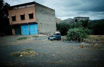Marokkanisches verlassenes Dorf von