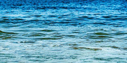 Noordzee in blauwgroene tinten