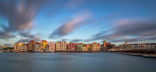 Handelskade Curacao Zonsondergang van Mark De Rooij