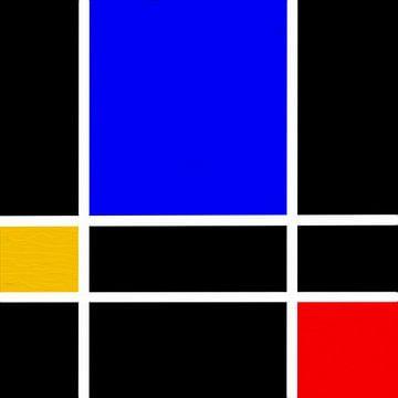 Rot Blau Gelb von Maurice Dawson