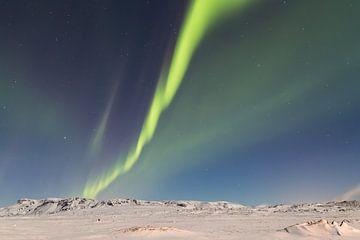 Noorderlicht - IJsland (5) van Tux Photography