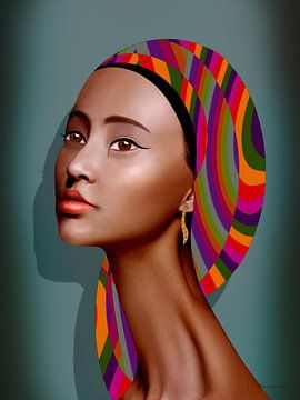 Zomer In Afrika van Ton van Hummel (Alias HUVANTO)