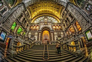 Centraal Station Antwerpen van Erik Bertels