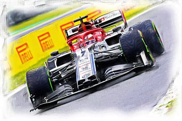 Räikkönen #7 van Jean-Louis Glineur alias DeVerviers