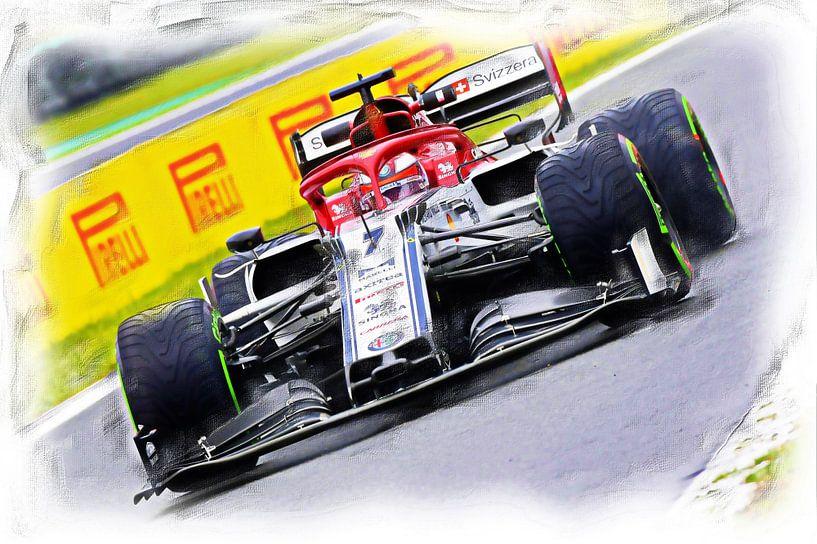 Räikkönen #7 von DeVerviers