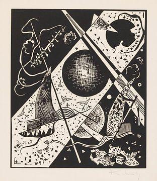 Kleine Welten VI, WASSILY KANDINSKY, 1922 von Atelier Liesjes